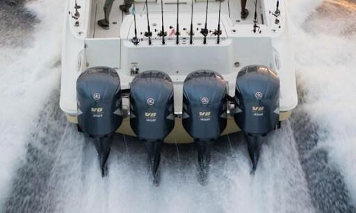 Лодочный мотор подвесного типа «Yamaha F350-C»